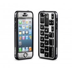 id America - Cushi Plus Original per iPhone 5 - Tastiera Nera