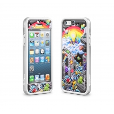 id America - Cushi Plus Original per iPhone 5 - Rainbow