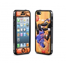 id America - Bumper + Cushi Plus Sport per iPhone 5 - Basket