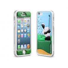 id America - Bumper + Cushi Plus Sport per iPhone 5 - Golf