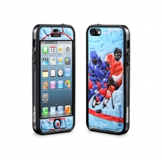 id America - Bumper + Cushi Plus Sport per iPhone 5 - Hockey