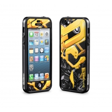 id America - Bumper + Cushi Plus Robotics per iPhone 5 - Giallo