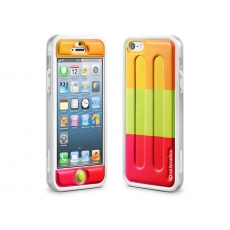 id America - Bumper + Cushi Plus Sweet per iPhone 5 - Popsicle