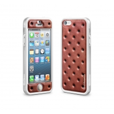 id America - Bumper + Cushi Plus Sweet per iPhone 5 - Sand