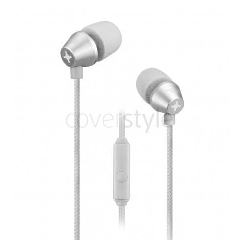 id America - Auricolari In-Ear New Metropolitan in Alluminio - Argento