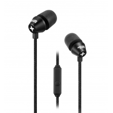 id America - Auricolari In-Ear New Metropolitan in Alluminio - Nero