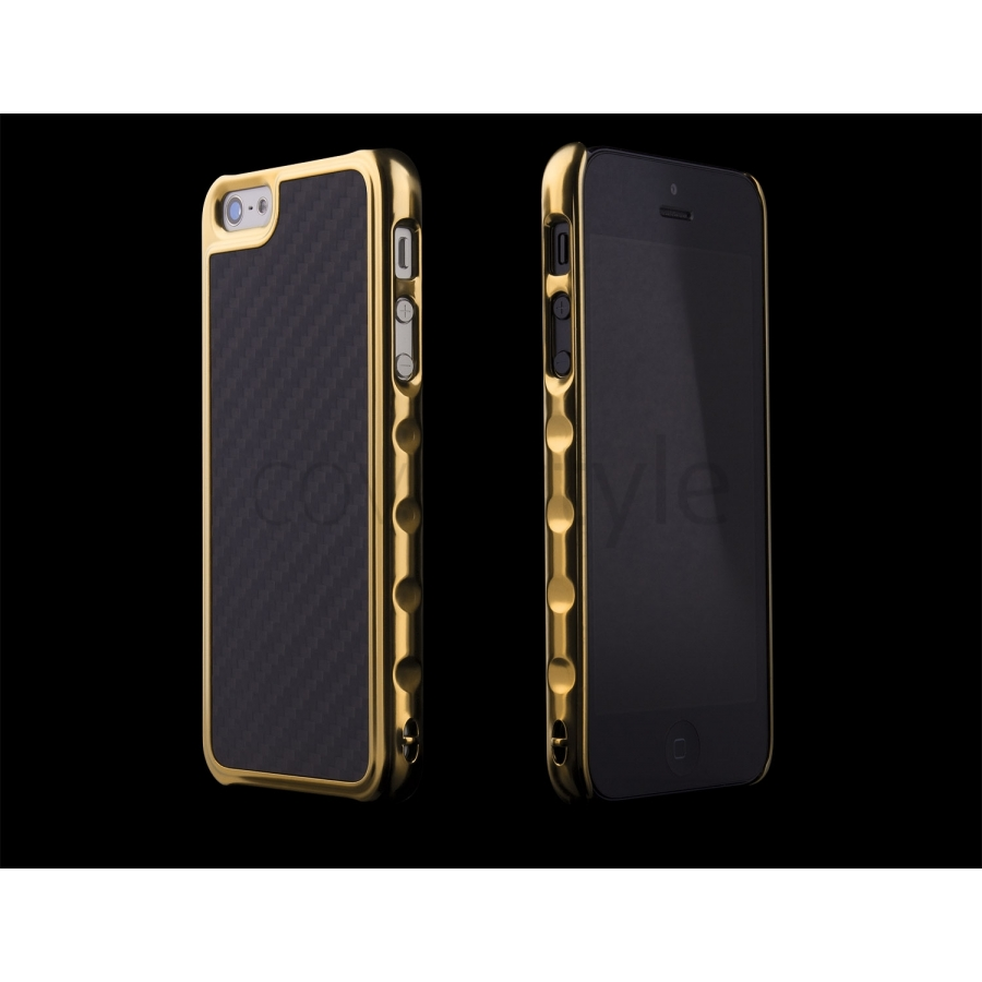 custodia per iphone 5s oro