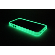 Bumper Fluorescente per iPhone 5 - Azzurro