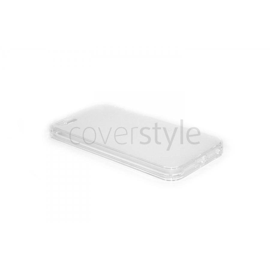 Custodia Ultra Sottile Flessibile Trasparente Anti-Polvere per