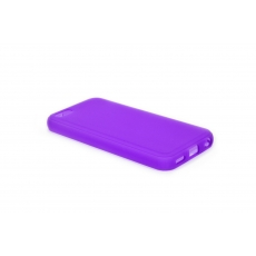 Custodia Flexi Matt Flessibile Opaca per iPhone 5C - Viola