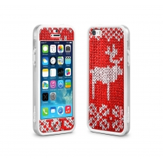 id America - Bumper + Cushi Plus Original per iPhone 5/5S - Christmas