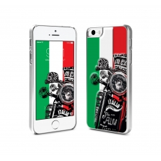 id America - Custodia Cushi Flag in Soft Foam per iPhone 5/5S - Italia