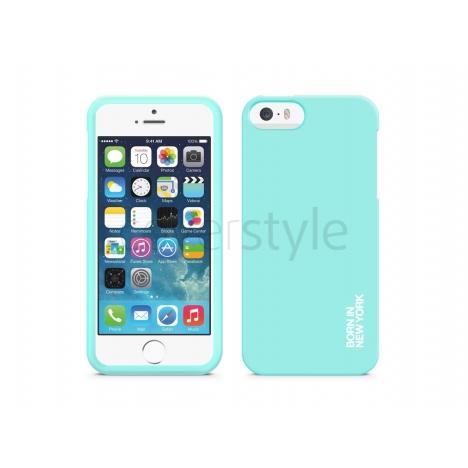 id America - Custodia Integrale HUE per iPhone 5/5S - Azzurro