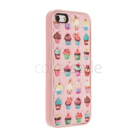 Custodia Cupcakes in Soft Foam per iPhone 5/5S