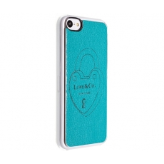 Custodia Heart Key Ring per iPhone 5C - Verde