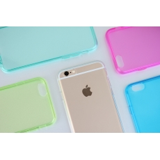 "Custodia GlossyFlex Flessibile per iPhone 6 (4.7"") - Turchese"