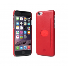"id America - Wall St. Custodia in Pelle per iPhone 6 (4.7"") - Rosso"