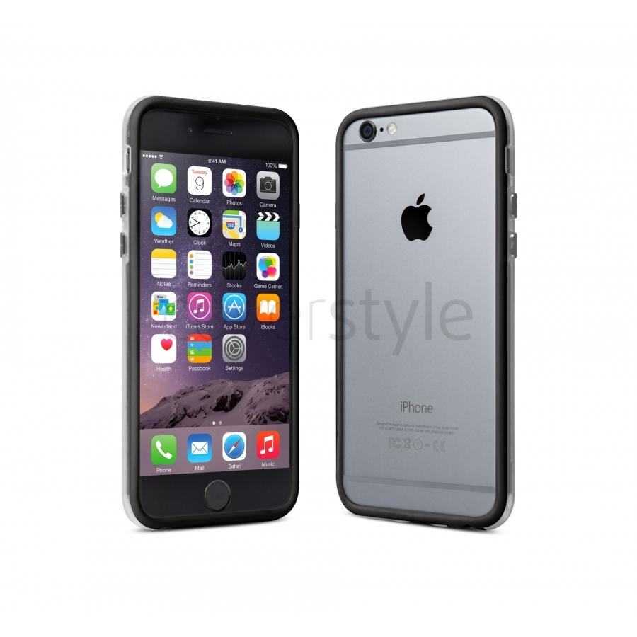 Bumper Cover Custodia case per iPhone 6 e 6S 4.7 Bianco e