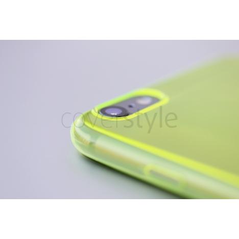 """Custodia ZeroFlex PRO 0.3mm Ultra Sottile Flessibile per iPhone 6 Plus (5.5"""") - Giallo"""