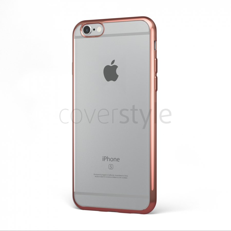 cover oro rosa iphone