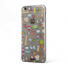 "CoverStyle Design® - Custodia Italia per iPhone 6/6S (4.7"") - City Collection"
