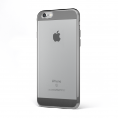 "CoverStyle® - Custodia ChromFlex S Flessibile + Bordo e Bande Cromate per iPhone 6/6S (4.7"") - Grigio"