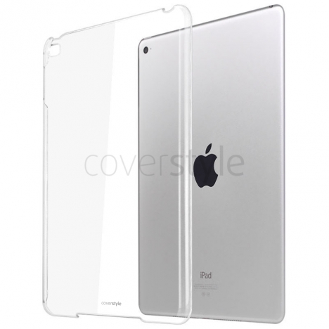 CoverStyle® - Custodia UltraThin Compatibile con Smart Cover per iPad mini 4 - Trasparente