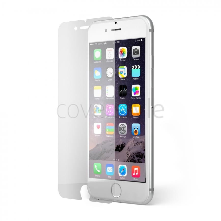 Cover iPhone Apple 6 - 6 s fronte retro vetro temperato protezione