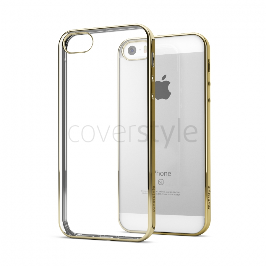 cover iphone 5 oro