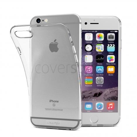 """CoverStyle® - Nuova ZeroFlex PRO2 0.3mm + Bordo Fotocamera Ultra Sottile Flessibile per iPhone 6/6S Plus (5.5"""") - Trasparente"""