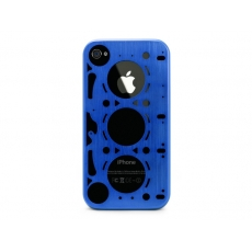 id America - Custodia Gasket in Alluminio per iPhone 4/4S - Rally Blue