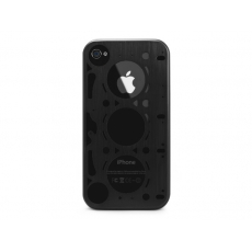 id America - Custodia Gasket in Alluminio per iPhone 4/4S - Black