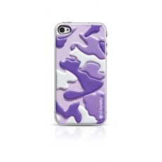 id America - Skin Cushi Camo per iPhone 4/4S - Sunset Purple