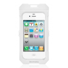 id America - Custodia Impermeabile per iPhone 4/4S - Bianco