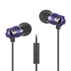 id America - Auricolari Spark in Alluminio HD - Royal Purple