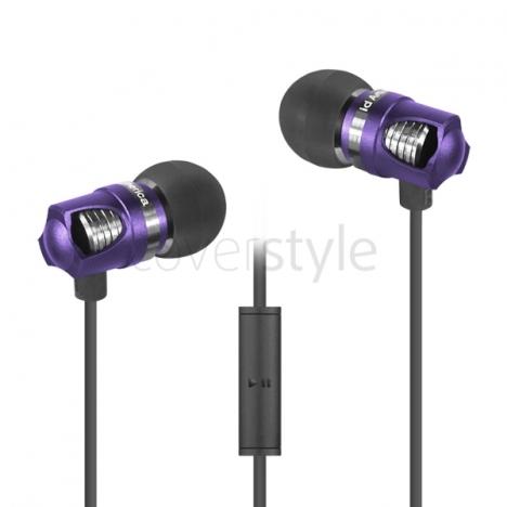 id America - Auricolari Spark in Alluminio HD - Royal Purple