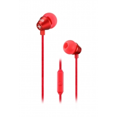 id America - Auricolari In-Ear Metropolitan in Alluminio - Brilliant Red