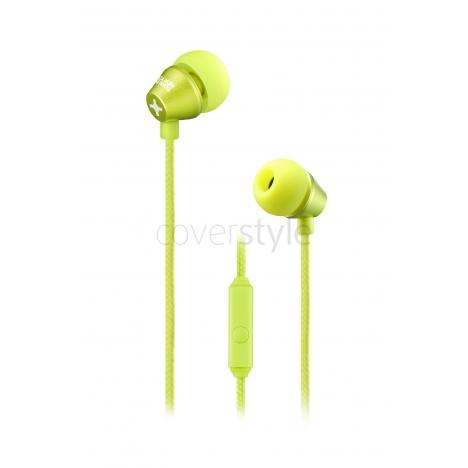 id America - Auricolari In-Ear Metropolitan in Alluminio - Yellow Green