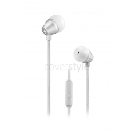 id America - Auricolari In-Ear Metropolitan in Alluminio - Aluminum Silver