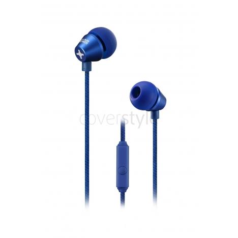 id America - Auricolari In-Ear Metropolitan in Alluminio - Navy Blue