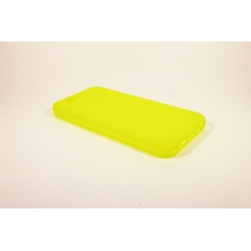 Custodia Morbida Opaca per iPhone 5 - Giallo