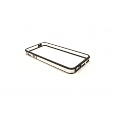 Bumper Bicolore Nero/Trasparente per iPhone 5 - Serie Advanced