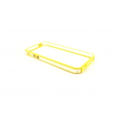 Bumper Bicolore Giallo/Trasparente per iPhone 5 - Serie Advanced