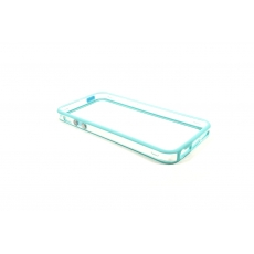 Bumper Bicolore Azzurro/Trasparente per iPhone 5 - Serie Advanced