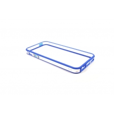 Bumper Bicolore Blu/Trasparente per iPhone 5 - Serie Advanced