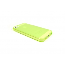 Custodia Flessibile Lucida con Interno Opaco per iPhone 5/5S - Verde